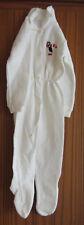 Babyschlafanzug   Größe 68   weiß mit Pinguin Motiv