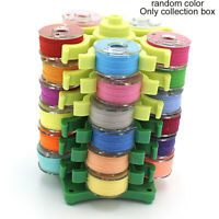 6 Layer Bobbins Tower Storage Holder Thread Box Stand Organizer Sewing Accessory