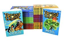 Beast Quest (Series 1-6) 36 Books Young Adult Collection Paperback By Adam Blade