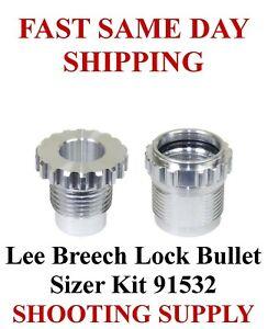 Lee Breech Lock Bullet Sizer Kit FAST SAME DAY SHIPPING 91532