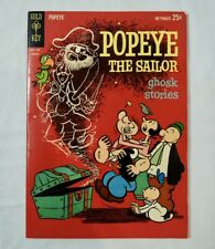 Gold Key Comics 'Popeye The Sailor - Ghosk Stories' 1962 (Ghost Mispelling)