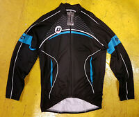 CLEARANCE NEW Doltcini Long Sleeved Roubaix Lined Cycling Jersey-XL- Schils UK