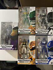 Mighty Morphing Lightning Collection Power Rangers: Green,White,black,blue,Tenga