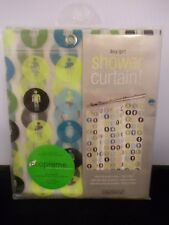 InterDesign Boy/Girl Bathroom Symbol Shower Curtain NEW