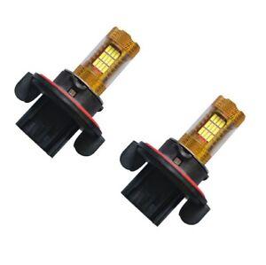 2 AMPOULE H13 A 45 LED SMD BLANCHE