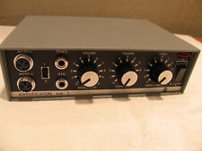 RCF 12v PA Amplifier 40W made in Italy NEW IN BOX, multi input, Manual