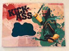 KICK ASS MOVIE DF 2010 AARON JOHNSON KICK-ASS GREEN COSTUME WARDROBE RELIC CARD