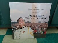 """The US Army Band LP Walter Skees """"Musically Yours"""" S19771 Private Rare US Army"""