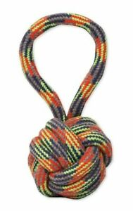 Mammoth Flossy Chews Extra Monkey Fist Ball with Handle Medium  1 count