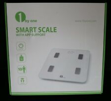 NEW IN BOX  1BYONE BLUETOOTH SMART BODY FAT SCALE IOS & ANDROID WIRELESS