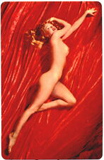 Nude ~ MARILYN MONROE ~ Vintage 1954 ~ Full Color Pocket Calendar