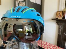 Casco Speedster Road Cycling/triathlon Helmet Large With Tinted Visor Worn Once