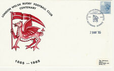RUGBY - 29.5.85 - London Welsh RFC Centenary commemorative cover