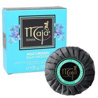 Maja Aqua Turquoise Luxury Perfumed Bar Soap. Fresh and Sensual Scent. 3.5 Oz