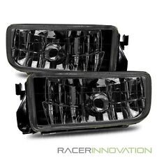 For 92-98 BMW E36 318i/323i/325i/M3 Smoke Lens Fog Lights Bumper Driving Lamps