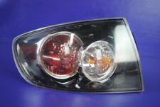 07-09 Mazda 3 Sedan Outer Tail Light Rear Brake Lamp Driver Left Factory OEM