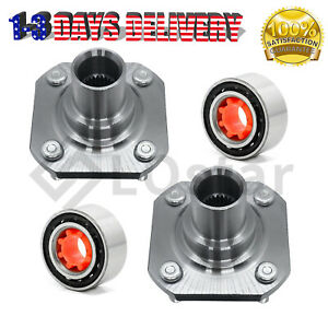Pair(2) New Front Wheel Hub & Bearing Assembly Fits Toyota Tercel Paseo