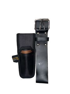 Leather Top Grain Professional Tool Belt With Stanley Knife Holder
