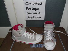 Converse All Stars Hi Top Trainers. Size 7. Grey with Padded Cushion Tops