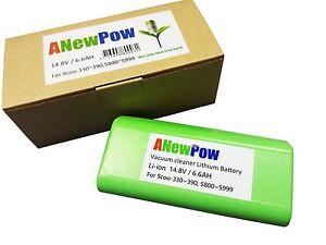ANEWPOW Lithium Battery for iRobot Scooba 380/390/5000/6000.