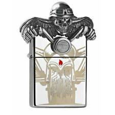 EDEL ZIPPO  3D Emblem  Ghost Rider  Biker  LIMITED  EDITION  2500  NEU