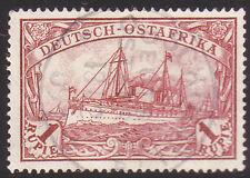 Deutsch - Ostafrika Nr. 19 gestempelt geprüft
