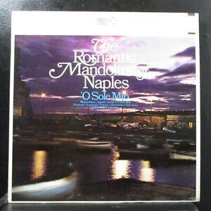 Iller Pattacini - The Romantic Mandolins Of Naples LP Mint- Epic BF 19033 yellow