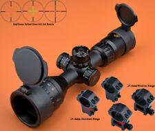 Eagle Eye 3-9x42AOCE R/G Compact Glass Mil Dot Rifle Scope W/ 2 kinds of Mounts