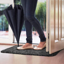 Super Absorption Door Mat w/ Anti Slip Backing - Traps Dirt and Water