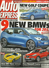January Weekly Auto Express Magazines
