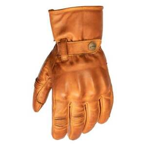 RST Roadster II CE Motorcycle Motorbike Leather Gloves Tan