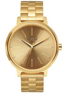 NEW Nixon Damenuhr A099-502 Kensington All Gold Uhr Armbanduhr