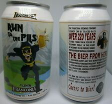 Iron Maiden Run to The Pils Hills 12 oz Lager Beer Can Texas Franconia Brewery
