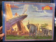 NEW VINTAGE RARE The Lion King 63 Piece Floor Puzzle Giant interlocking pieces