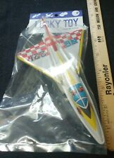 Lucky Tin Toy Convair F-106 Interceptor Jet Friction Plane N6 221 Unopened Japan
