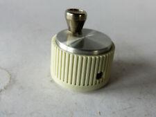Drehknopf  Bedienknopf mit Kurbel für 6 mm Achse, neu,  Durchmesser 32 mm