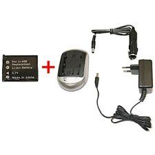 Batería + CARGADOR PARA Olympus fe-230 fe-240 fe-250 fe-190