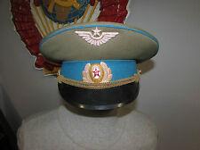 Russian soviet cap hat officier army Air Force badge cap uniform USSR Military