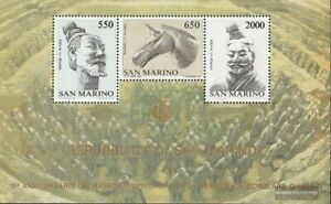 San Marino block10 (complete issue) fine used / cancelled 1986 Chinese Art