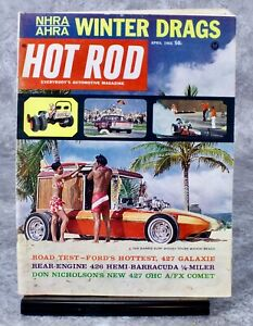 1965 Hot Rod Magazine April Issue 427 Galaxie