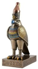 Veronese Bronze Figurine Egyptian God Horus Statue Gift Home Decor