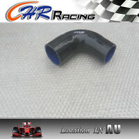 Silicone 90° degree Elbow Reducer 3'' to 4'' 76>102mm Intake Intercooler Hose