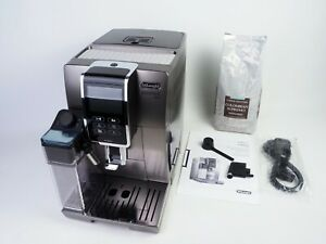☕ DeLonghi Dinamica Plus ECAM 370.95.T W/ Bluetooth Titanium RRP £945 ☕