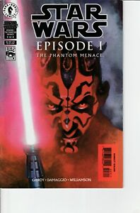 Star Wars Episode 1 Phantom Menace (Dark Horse 1999) #3 1st Darth Maul