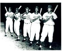 1954 1955 MAYS CLEMENTE SANTURCE CRABBERS 8X10 TEAM PHOTO BASEBALL THURMAN CROWE