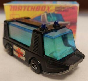 Matchbox Superfast 46 Stretcha Fetcha Ambulance 1971 Custom/ Crafted box