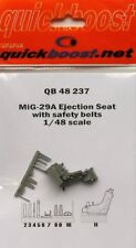 Quickboost 1/48 Mikoyan MiG-29A Ejection Seat with Safety Belts