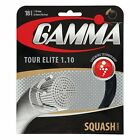 Gamma Tour Elite 18 1.10mm Squash String - Reg 15 - Great Feel and Power