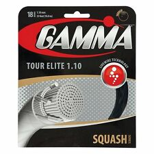 Gamma Tour Elite 18 (1.10mm) Squash String - Reg $15 - Great Feel and Power