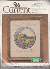 Current 7091-5 Housewarming Counted Cross Stitch Sampler Kit NIP